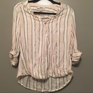 Vintage america XS tunic Blouse 3/4 sleeve